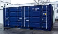 20ft Open Side Seecontainer neuwertig