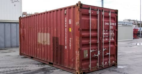 20ft ISO Seecontainer gebraucht