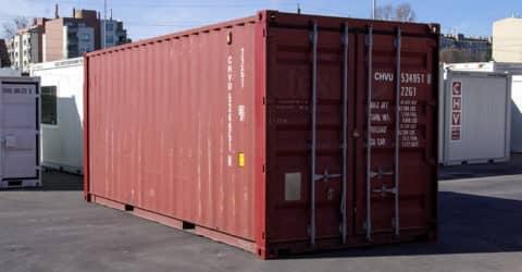 20ft ISO Container aus Stahl gebraucht