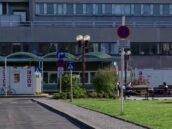 Triage Station Wien Eingang