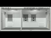 Covid-19 Testcontainer Innenansicht