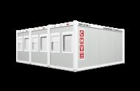 Containeranlagen CHV-300-3er-Buerocontainer Dreieranlage