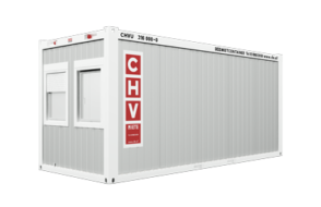 CHV-300-Buerocontainer-front-45-sml