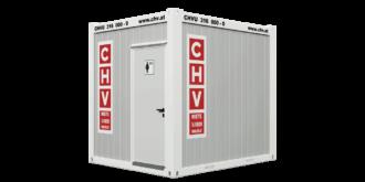 CHV-150WCD WC Container Damen 10 Fuß