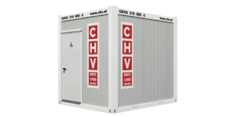 CHV-150WCB WC Container Barrierefrei 10 Fuß