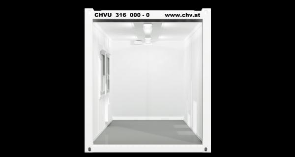 CHV300.48 16ft Bürocontainer Querschnitt