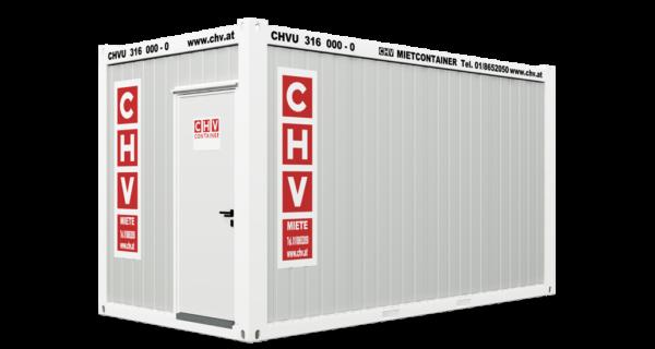 CHV-300-48-Buerocontainer-16ft-front-door