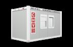 CHV300.48 16 fuß Bürocontainer 4,8m CHV-150 Bürocontainer Mietcontainer