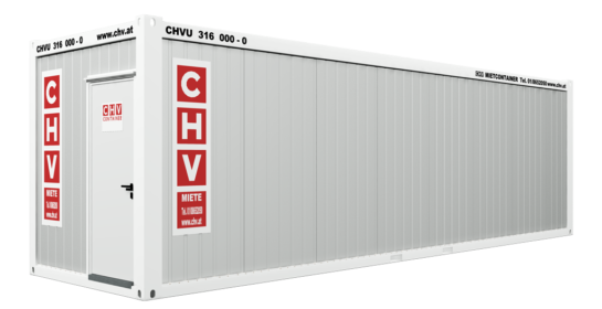 CHV-300-90-Buerocontainer-30ft-door
