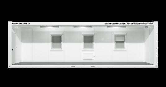 CHV-300.90 30 fuß Bürocontainer seitlich