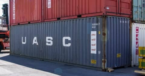 40ft High Cube Seecontainer gebraucht
