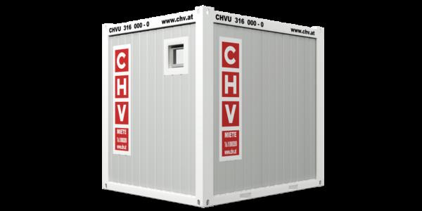 CHV-150S 10 fuß Sanitärcontainer back