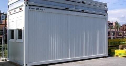 20 Fuß Bürocontainer Neuwertig