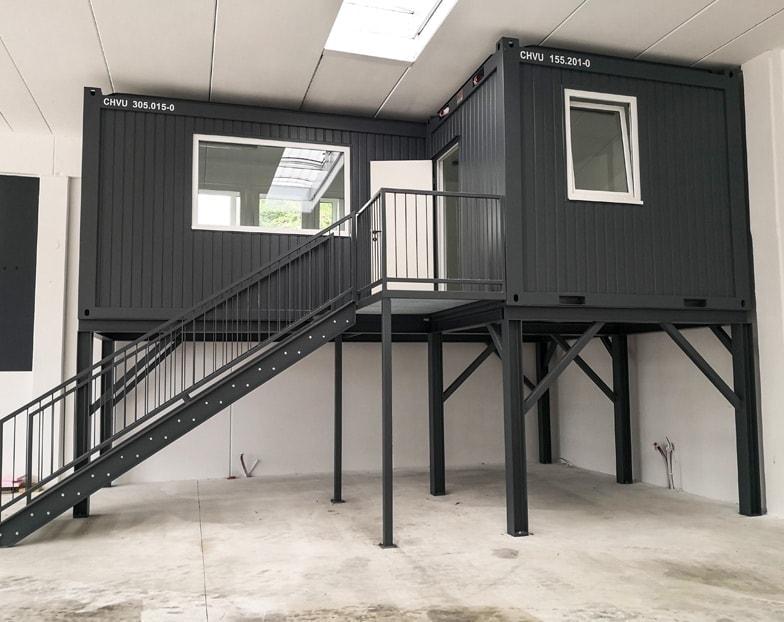 Wohncontainer für Transportunternehmen