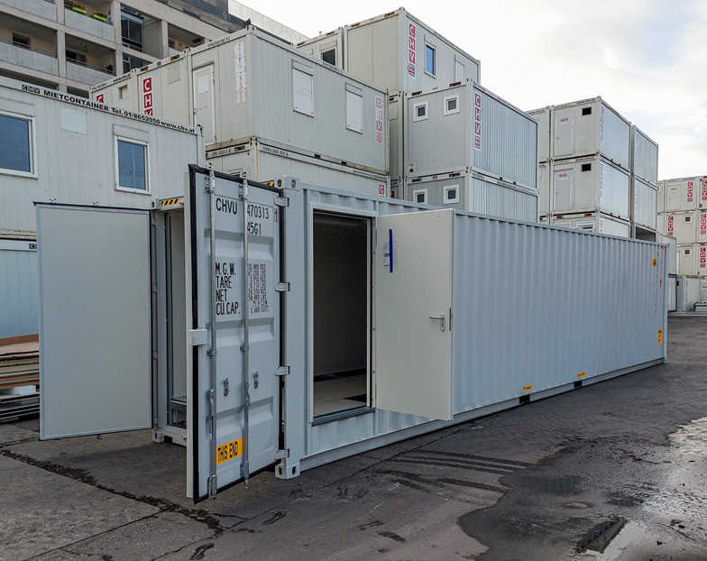 Technical container for engineering firm