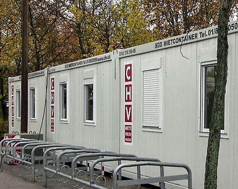 Erste Testcontainer in Wien aufgestellt