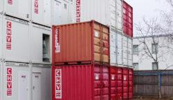 10 Fuß Lagercontainer gebraucht
