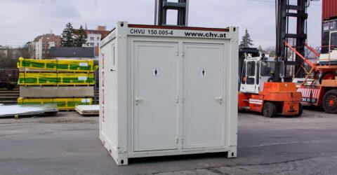 3m WC-Container Damen/ Herren Gebraucht