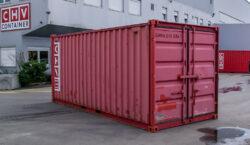 6m Lagercontainer aus Stahl gebraucht