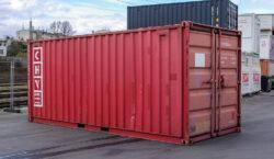 20ft Lagercontainer aus Stahl gebraucht